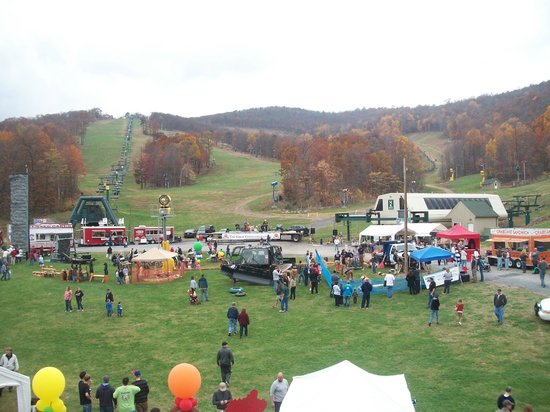 Whitetail Mountain Resort: The festivities at the fall festival