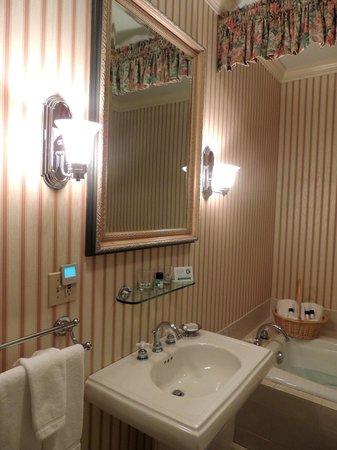 Carnegie Inn & Spa: Vanity
