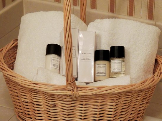 Carnegie Inn & Spa: Toiletries