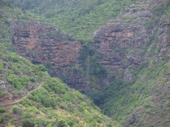 St Helena Island: Heart Shaped Waterfall