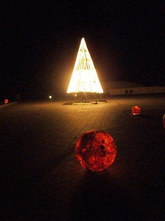 Grand Sirenis Riviera Maya Resort & Spa : Christmas trees