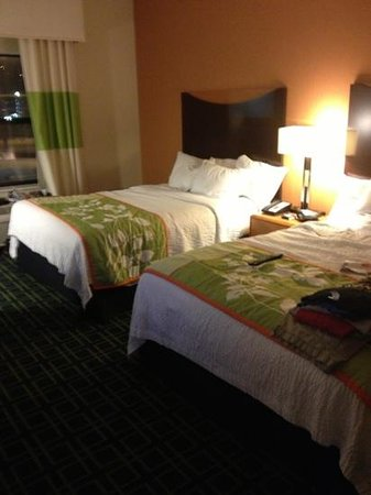 Fairfield Inn & Suites Cumberland : our room