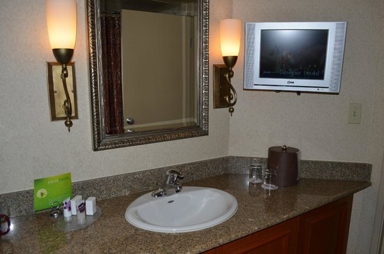 Harrah's Las Vegas: bathroom at harrahs