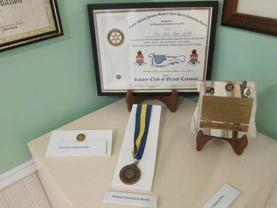 Cayman Islands National Museum: Rotary Club