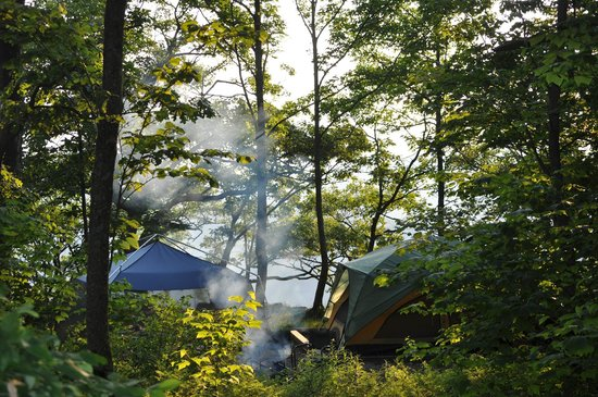 Loft Mountain Campground: Site A10A
