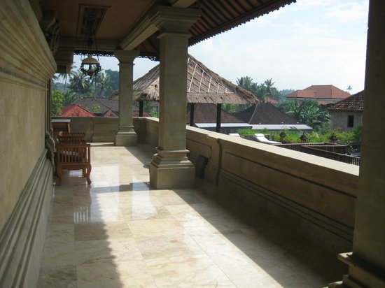 Vision Villa Resort: Our double balcony