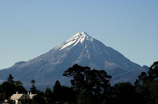 Mount Taranaki : Mount Egmont - on a clear day! See