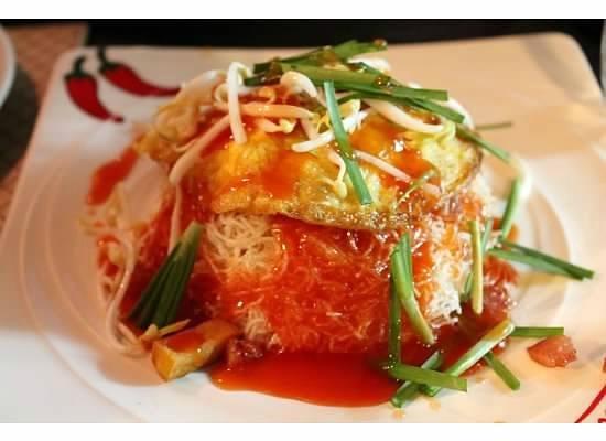 Kamala's Guesthouse : Egg salad