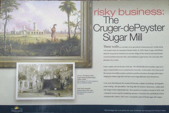 Sugar Mill Ruins: Plack