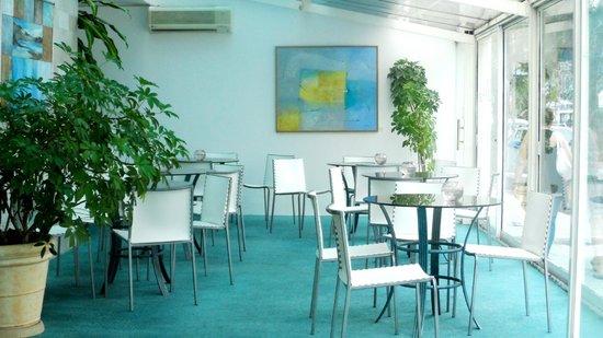 Hotel Aqua: recepção