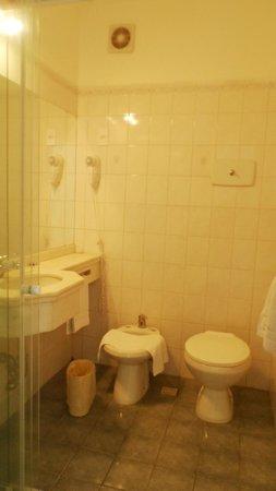 Hotel Aqua: banheiro