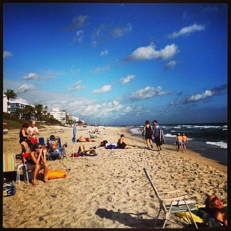 Lake Worth Beach: a great day