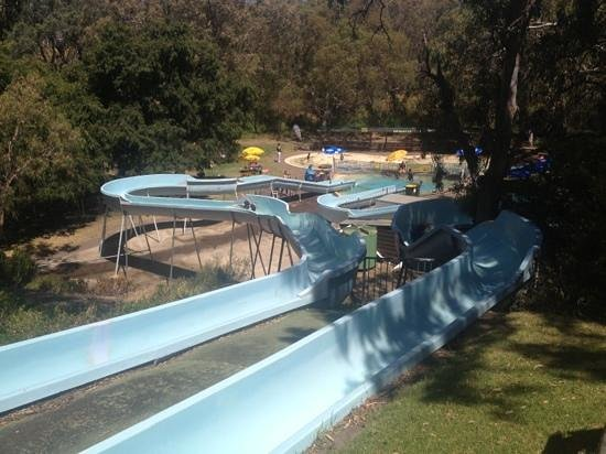 Victor Harbor, Australia: water slides