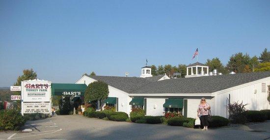Hart's Turkey Farm Restaurant, Meredith, NH