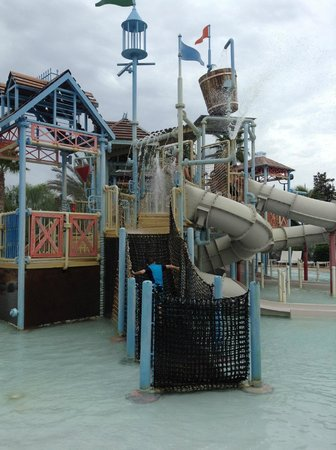 Reunion Resort of Orlando: kids area of waterpark