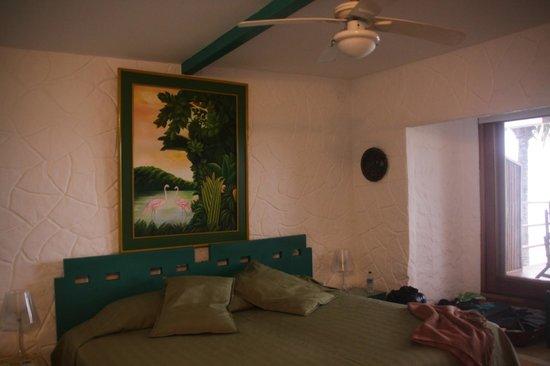 La Casa de Marita: Zimmer verde