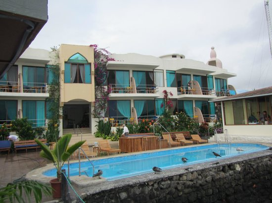 Hotel Solymar: Ansicht von der Meerseite