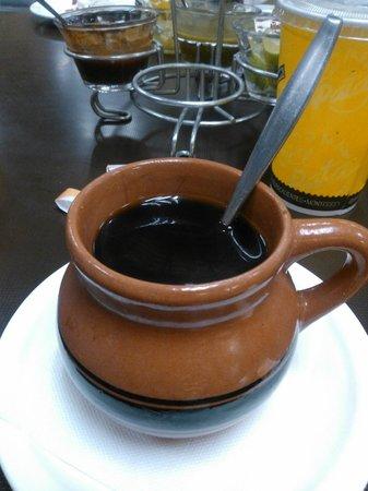 Tacos el Pata: Umm,,,, Delicioso café de olla