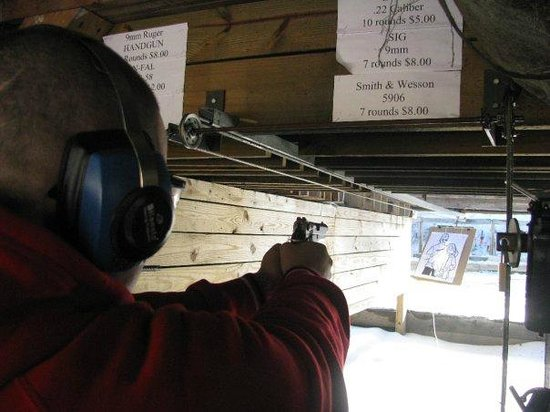 Sunset Hill Shooting Range: In action