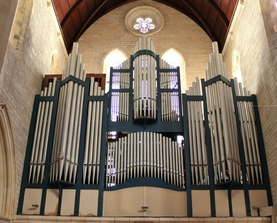 Cathedral of the Most Holy Trinity (Bermuda Cathedral): One of the organs...