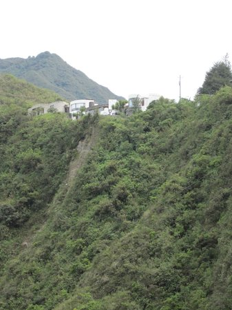 El Crater Hotel: View from crater