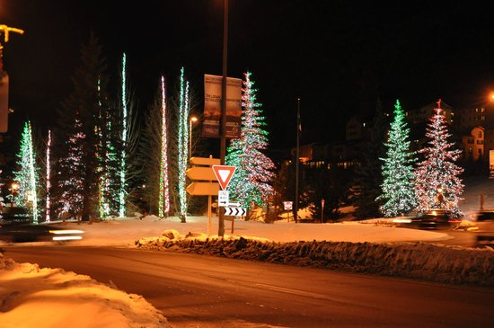 Vail Cascade Resort & Spa: Lights in the area
