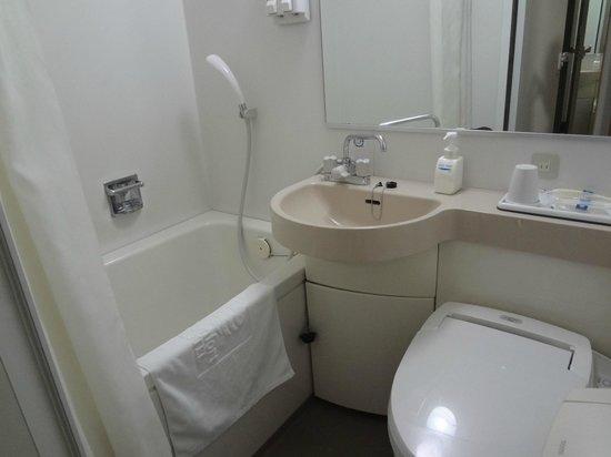 Comfort Hotel Narita: バスルーム