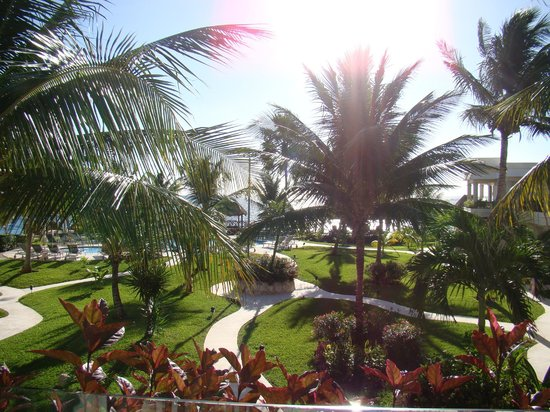 "Azul Beach Resort Riviera Maya: View from our ""Deluxe"" room"
