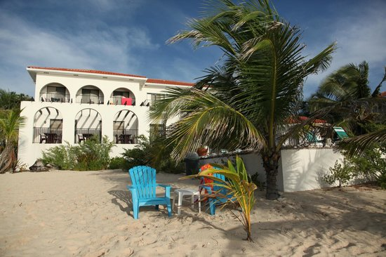 Turtle Nest Inn: View from the beach
