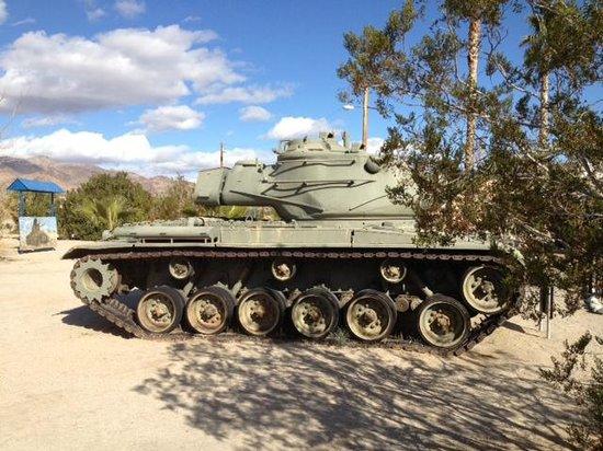 General George S. Patton Memorial Museum: Patton Memorial Museum outside tank