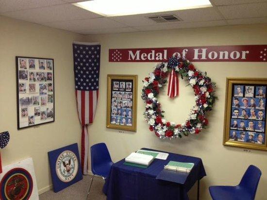 General George S. Patton Memorial Museum: Patton Memorial Museum metal of honor