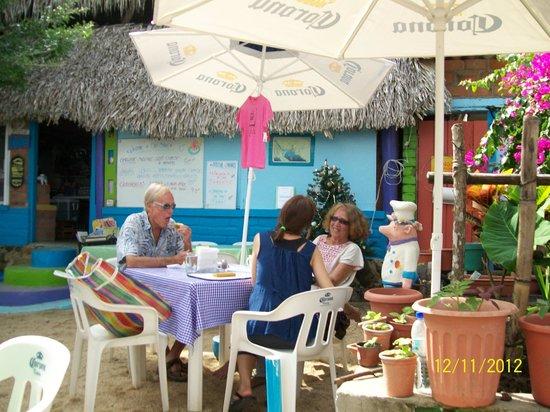 Cafe Bahia Yelapa Menu