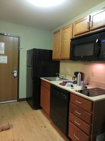 Suburban Extended Stay Hotel Clarksville : Kitchen area