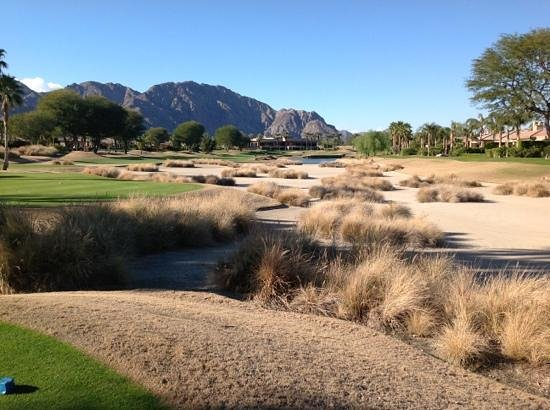 PGA West Jack Nicklaus Tournament Course : The Bear Trap to cap th round off.