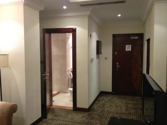 Splendid Hotel Musherib: Entrance