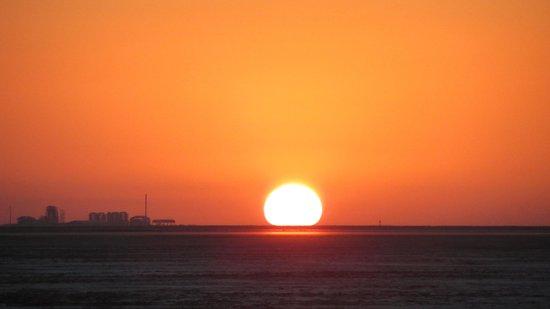 White Desert: Sunset at White Rann