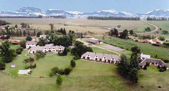 Blue Haze Country Lodge: Aerial photo of Blue Haze