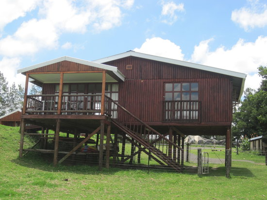 Blue Haze Country Lodge: Log cabin, self catering.