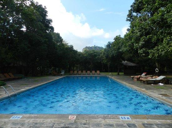 Hotel Sigiriya: Vue