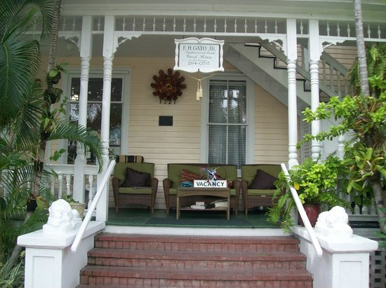 Southernmost Point Guest House: front porch
