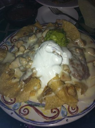 Mission Inn Restaurant: Chicken Nachos