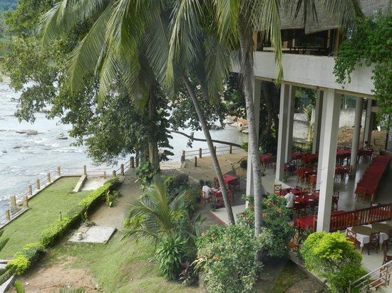Hotel Elephant Bay: vue de la chambre