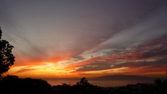 CLC Paradise: The sunset from our balcony