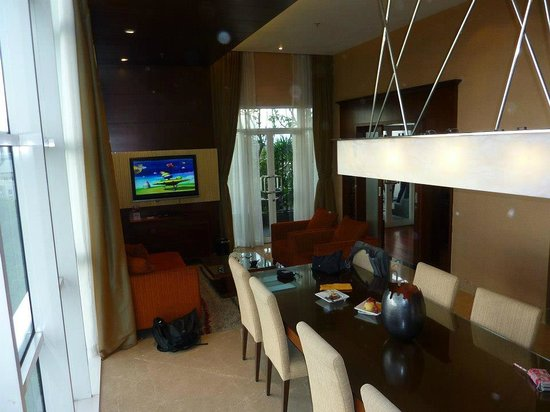 The Luxton Bandung: the spacious living room