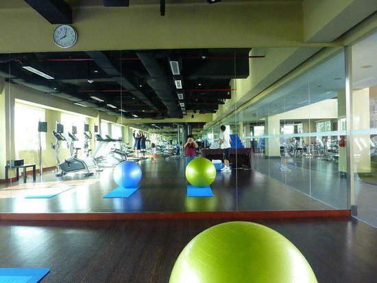 The Luxton Bandung: a complete exercise area