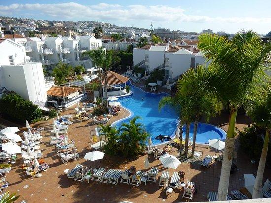Parque del Sol: From the sun-terrace ...sea to the right.