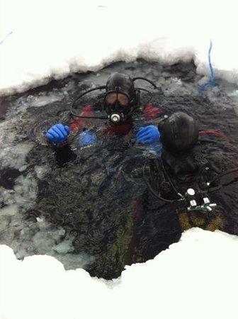 Ecole de plongée sous glace de Tignes : retour