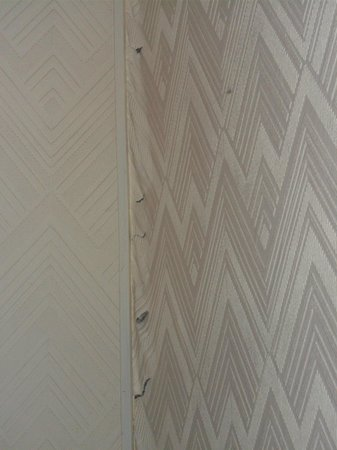 Ravna Gora Hotel: la carta del muro