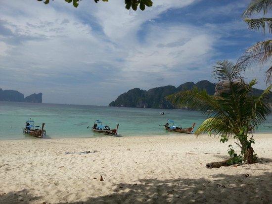 Phi Phi Paradise Pearl Resort: Вид на Лонг Бич