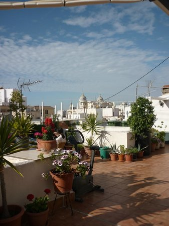 La Milagrosa Bed & Breakfast: vista dalla terrazza